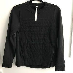 Lululemon Black Zip Sweatshirt